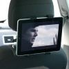 NGS Crane 360° Adjustable and Rotating Tablet Car Headrest Mount/Holder - 7