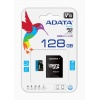 128GB AData Premier microSDXC A1 UHS-1 CL10 Memory Card w/SD adapter 85MB/sec Image
