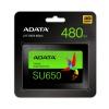 480GB AData SU650 2.5-inch SATA 6Gb/s SSD Solid State Disk 3D NAND Image
