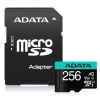 256GB AData Premier Pro microSDXC CL10 UHS-I U3 V30 A2 Memory Card with SD Adapter Image