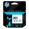 HP 301 Ink Cartridge (Cyan, Magenta, Yellow) Image