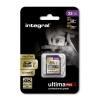 32GB Integral UltimaPro X Gold SDHC 95MB/sec CL10 UHS-1 U3 Memory Card Image