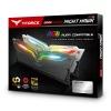 16GB Team T-Force Night Hawk RGB DDR4 3200MHz PC4-25600 CL16 Dual Channel Kit (2x 8GB) Black Image