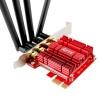 ZTC Wireless Adapter Dual Band AC1900 Desktop Network Card PCIe Long Range WiFi Model ZTC-WPCIE4-RD Image